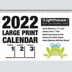 2022 Big Print Calendar