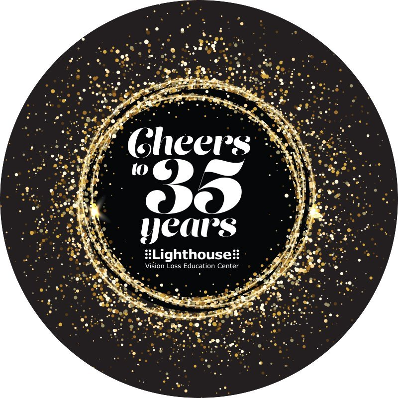 Cheers to 35 Years logo