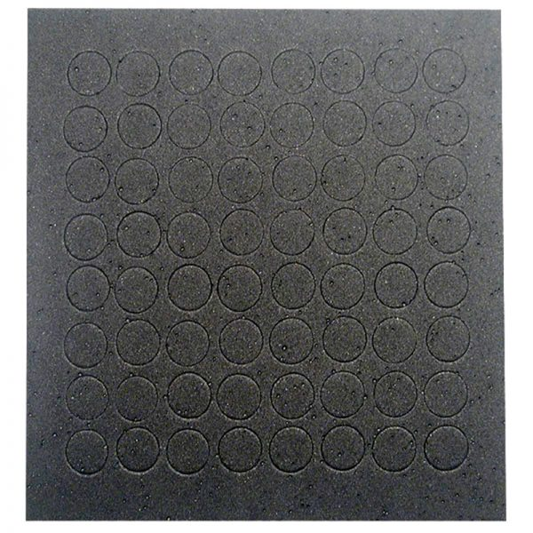 Black touch dots