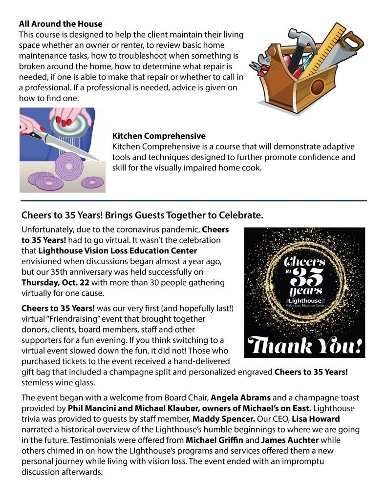 November 2020 eNews page 2
