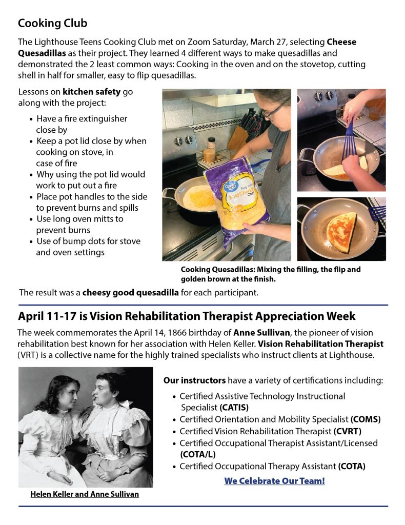 Lighthouse eNews April page 4