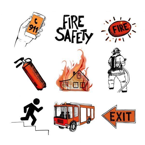 photos of fire safety resources